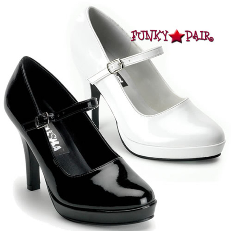 Funtasma CONTESSA-50, 4 Inch Heel with 3/4 Inch Platform Mary Jane Shoe