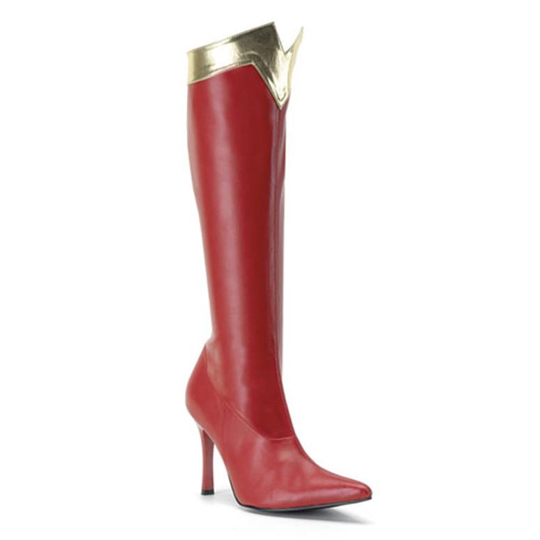 WONDER-130, Stiletto Heel Super Hero Boot
