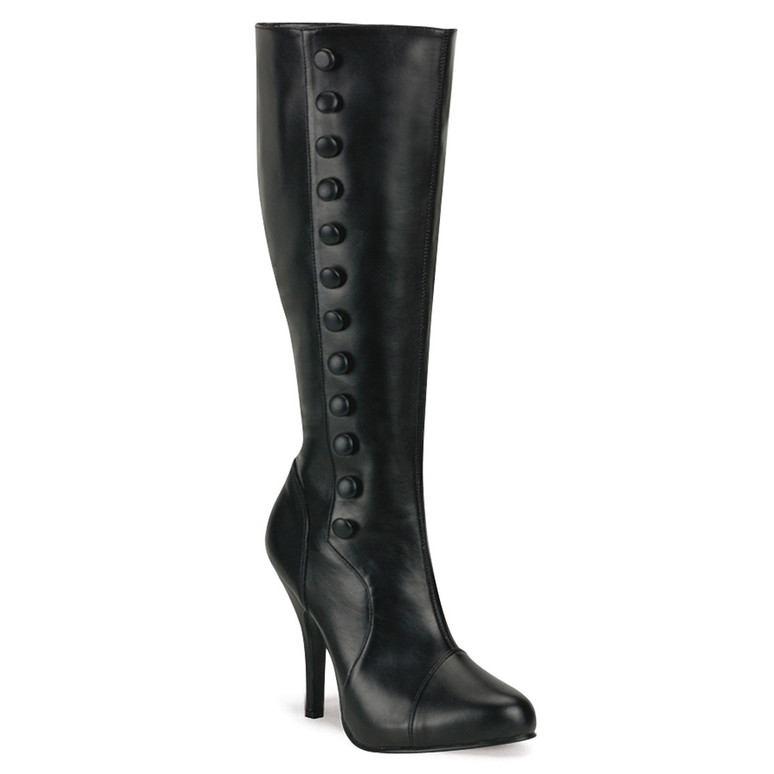 Costume Knee Boots with Side Buttons | Funtasma ARENA-208