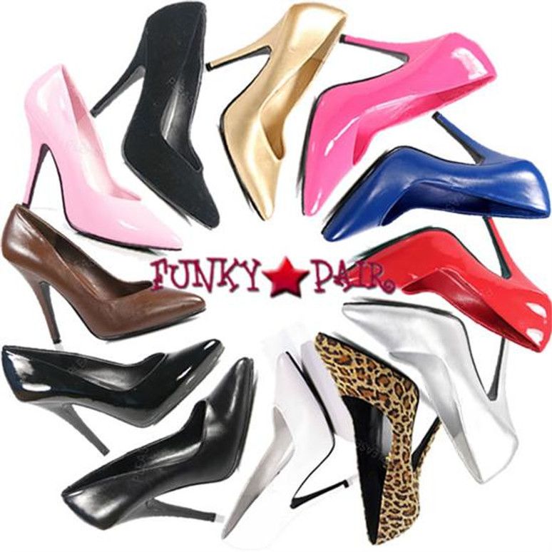 Pleaser Shoes | Seduce-420, Classic Pumps