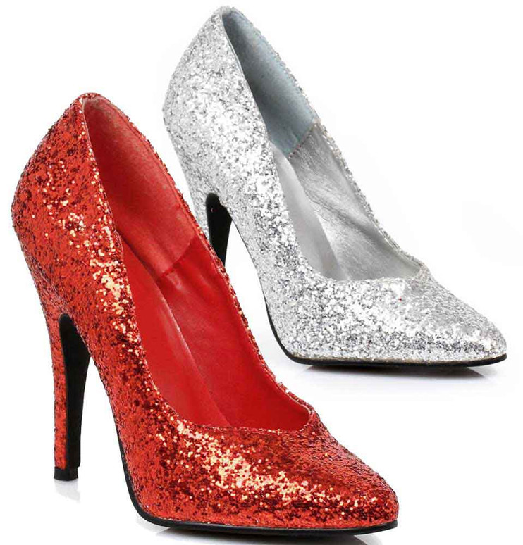 Ellie Shoes | 511-Glitter, 5 Inch High Heel Glitter Shoes