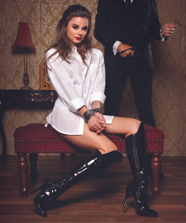 511-Sadie, 5 Inch Stiletto Heel Knee High Boot * 511-Sadie * Made by ELLIE Shoes