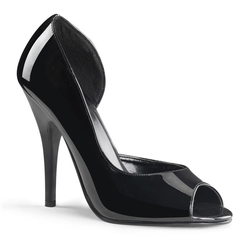 Open Toe and Close Heel Pump Pleaser | Seduce-212