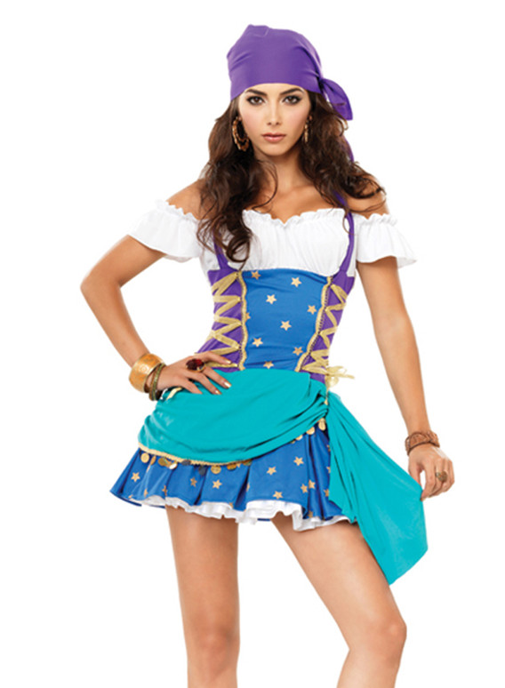 Crystal Ball Gypsy Costume (83671)