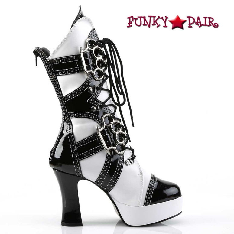 Gangster Boot with Brass Knuckle | Funtasma EXOTICA-1050