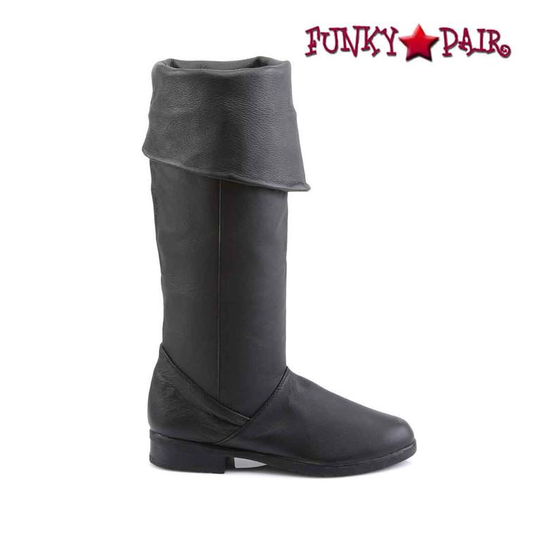 Side View Maverick-8812, Men Knee High Leather Boot | Funtasma