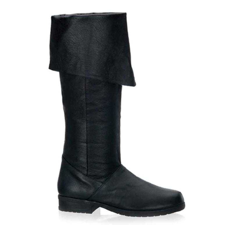 Men Pirate Knee High Leather Costume Boot Maverick-8812