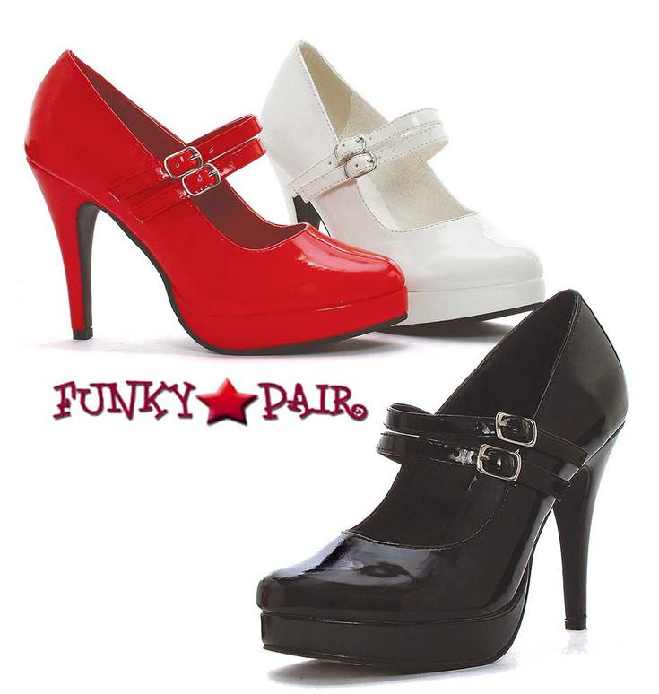 "Ellie Shoes   421-Jane 4"" Mary Jane Pump"