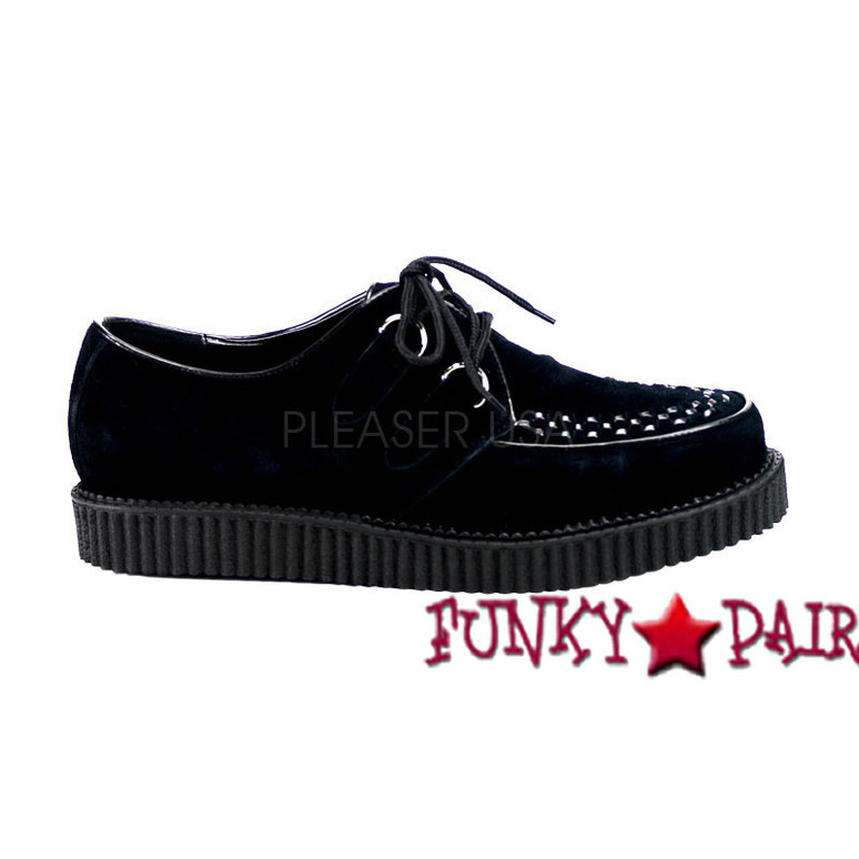 Creeper-602S * Suede Creeper Shoes Made by Demonia