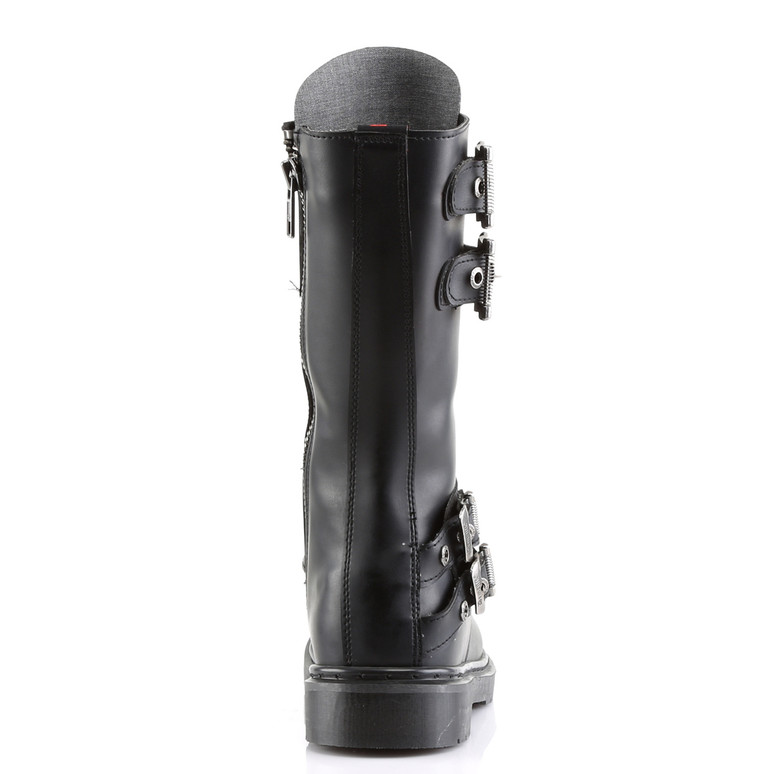 Defiant-302, Boots with Steel Plate Panel  back view