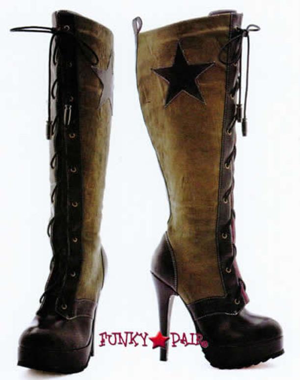 Leg Avenue   Costume Boots LA-552-MILITIA Military Boots