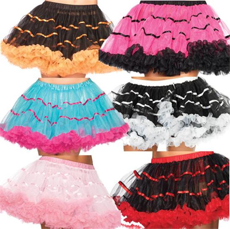 Striped Tulle Petticoat
