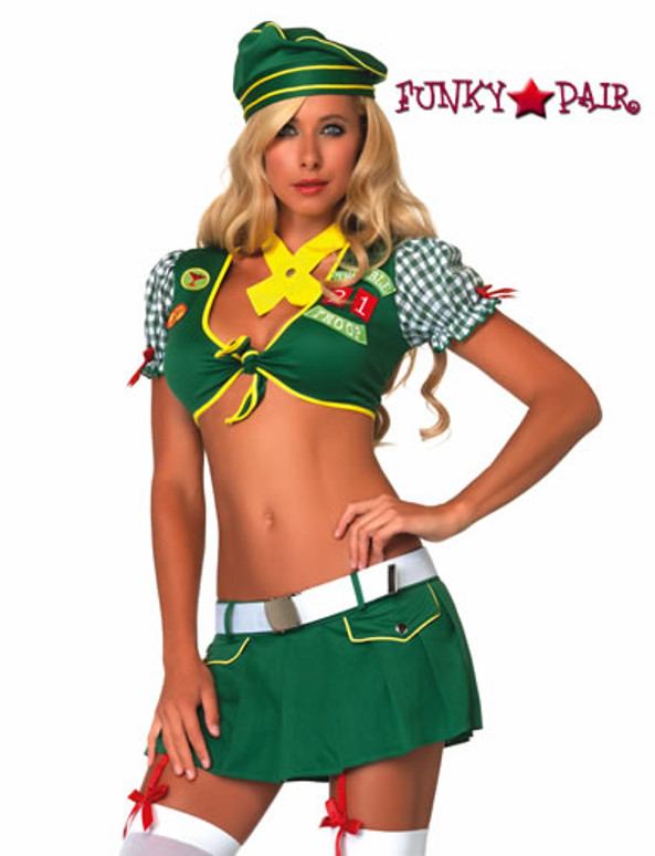 Sexy Scout Costume