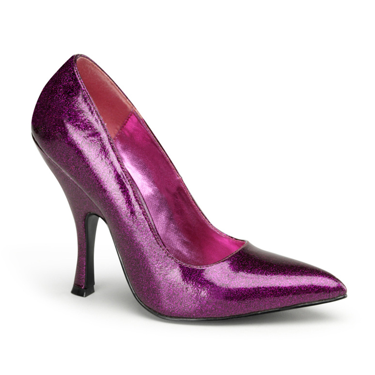 Fuchsia Bombshell-01G, 4.5 Inch High Heel Classic Pump | Pin-Up Couture