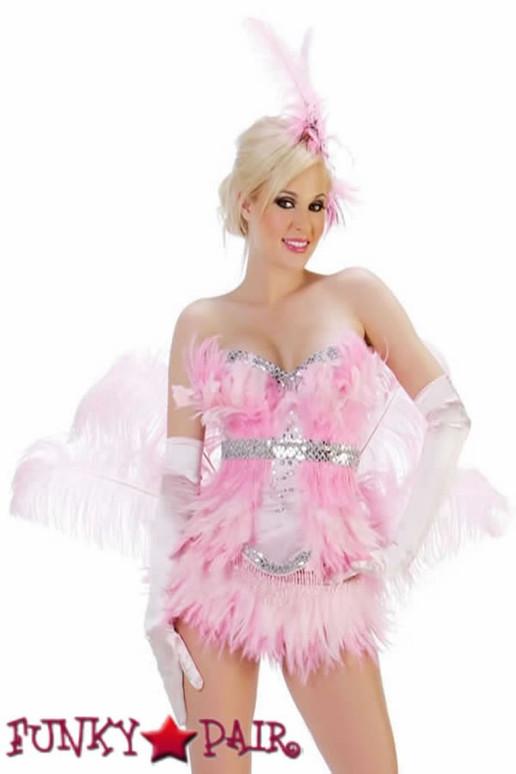 S1006, Pink Flamingo Costume