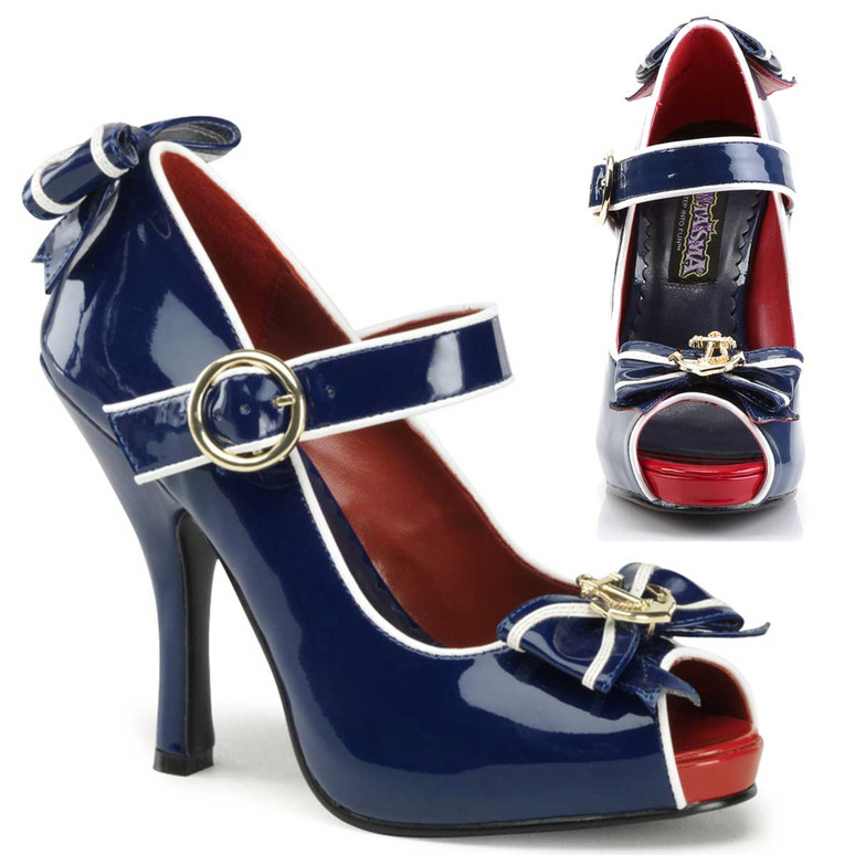 Women's Sailor Shoes by Funtasma Anchor-22