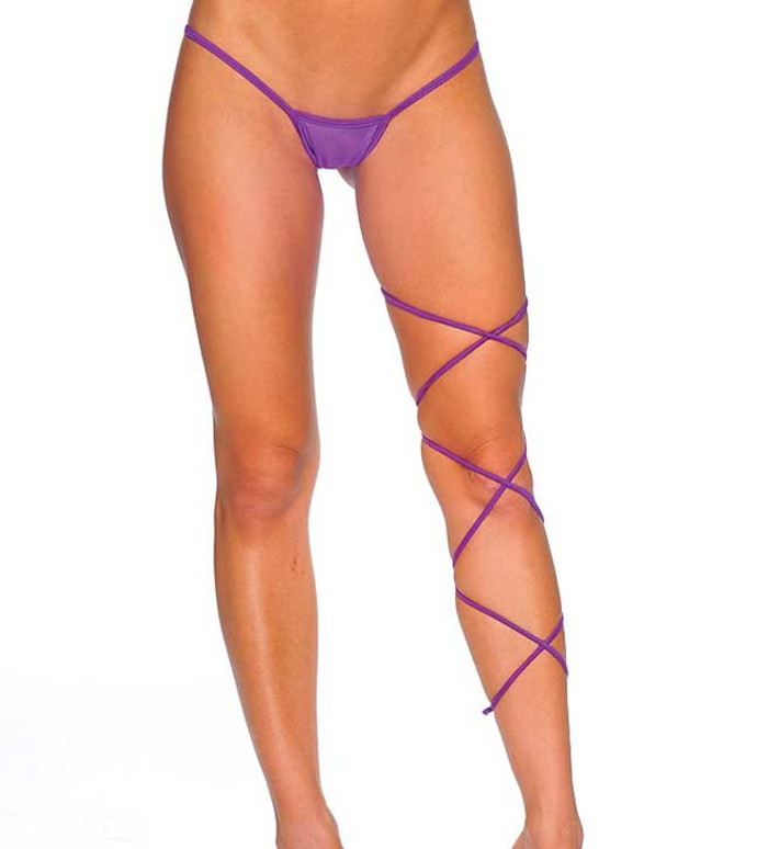 1020SL, Leg Strap One Size Color Purple