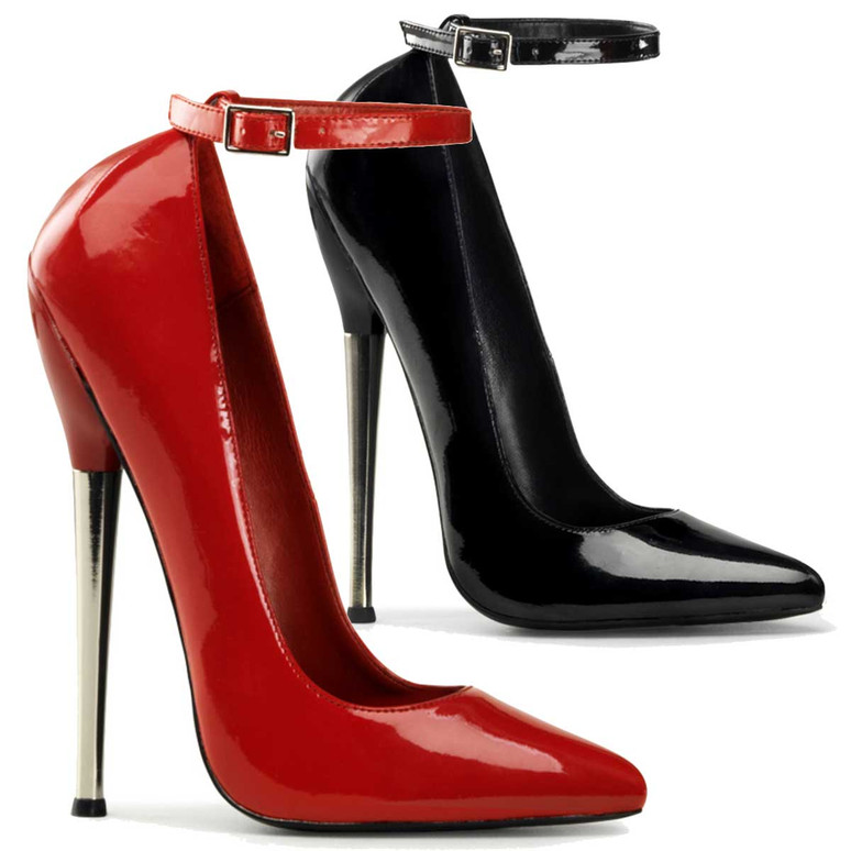 Fetish Shoes | Dagger-12, Ankle Strap Pump