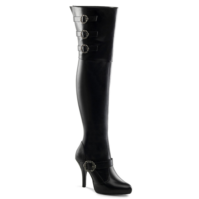 Diva-3006X, Wide Width/Calf Thigh High Boots by Funtasma