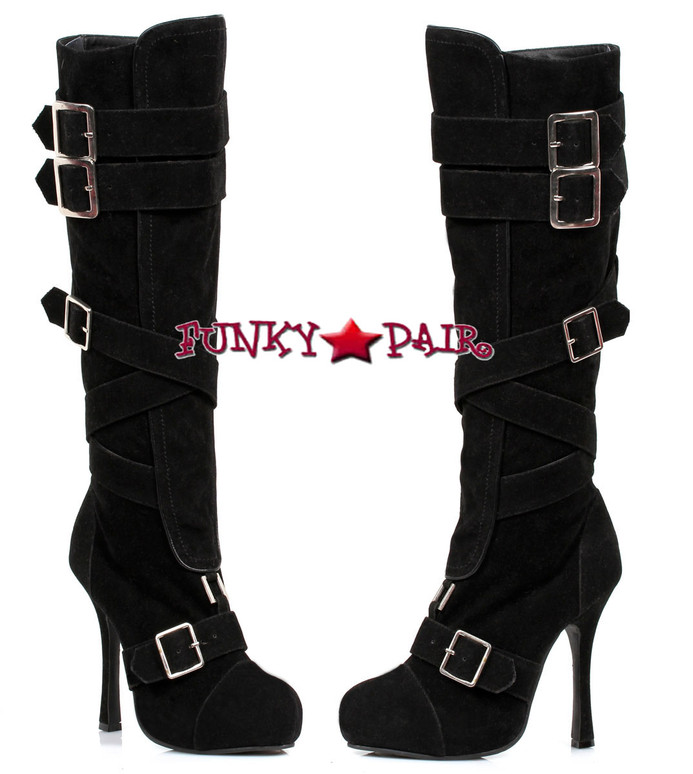 "Ellie Shoes | 420-VIXEN 4"" Knee High Boots"