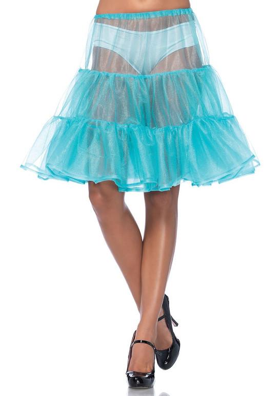 A1965, Shimmer Organza Petticoat