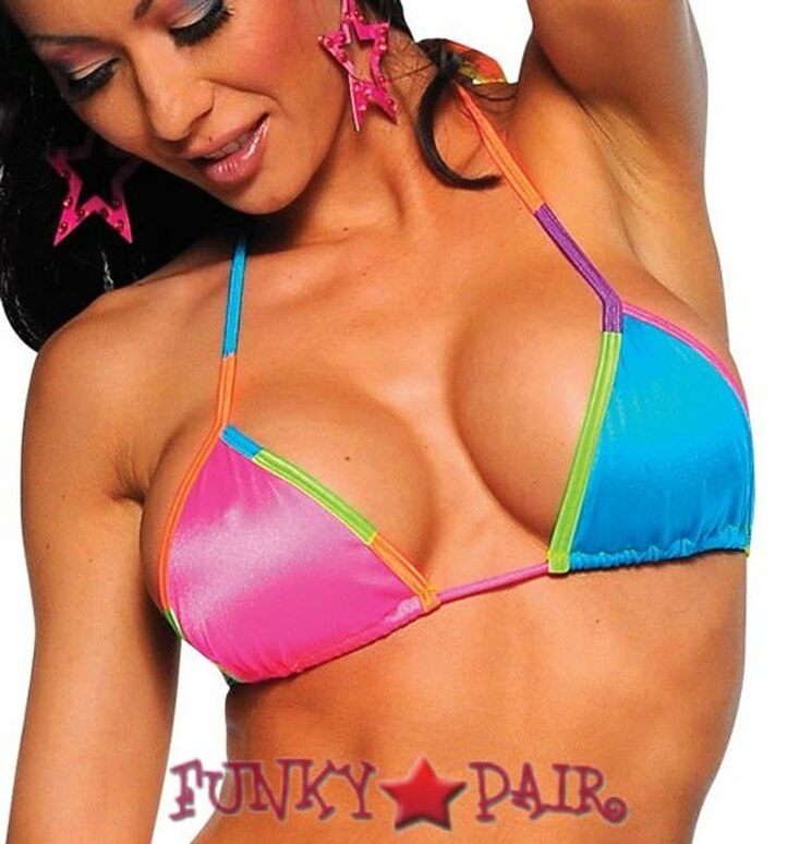 Dancer Drum & Brass Bikini Top