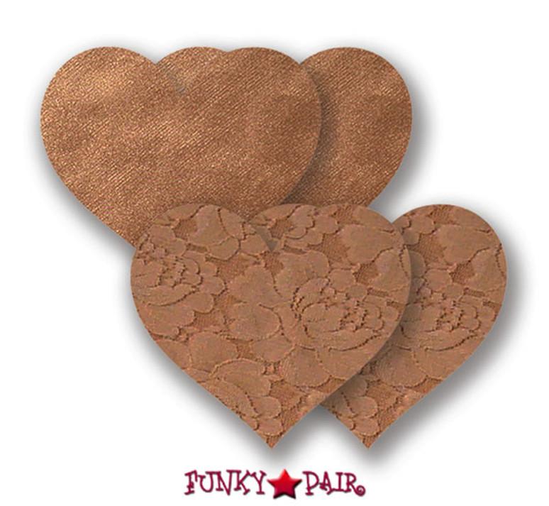 Caramel Heart Pasties