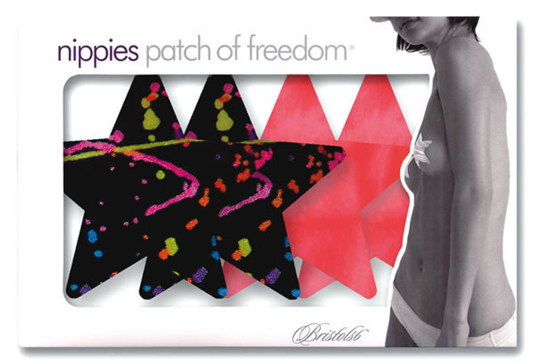 Painted Love Star Pasties