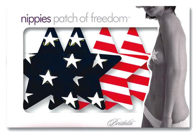 Patriot Star Pasties