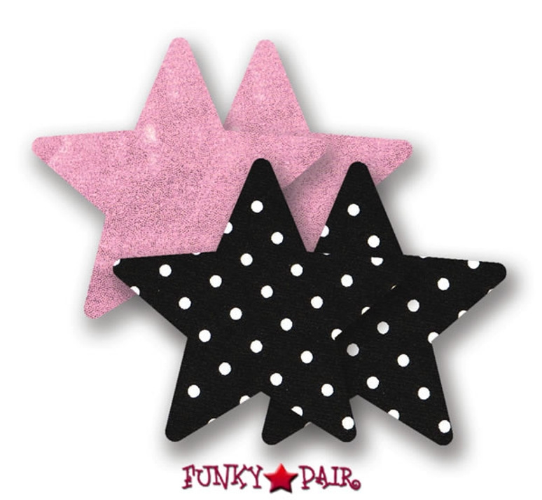 Pretty In Pink Star Pasties