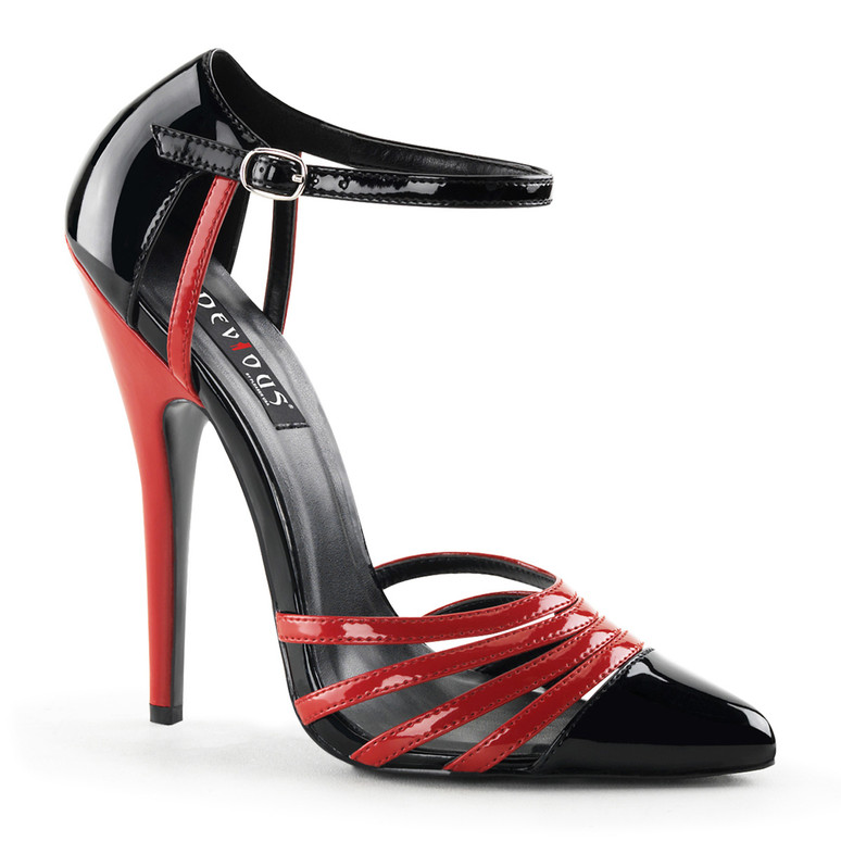 6 Inch Strappy D'orsay Shoe Devious | Domina-41