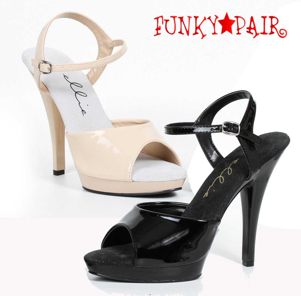 Ellie Shoes 521 Juliet W 5 Heel Wide Width Sandal