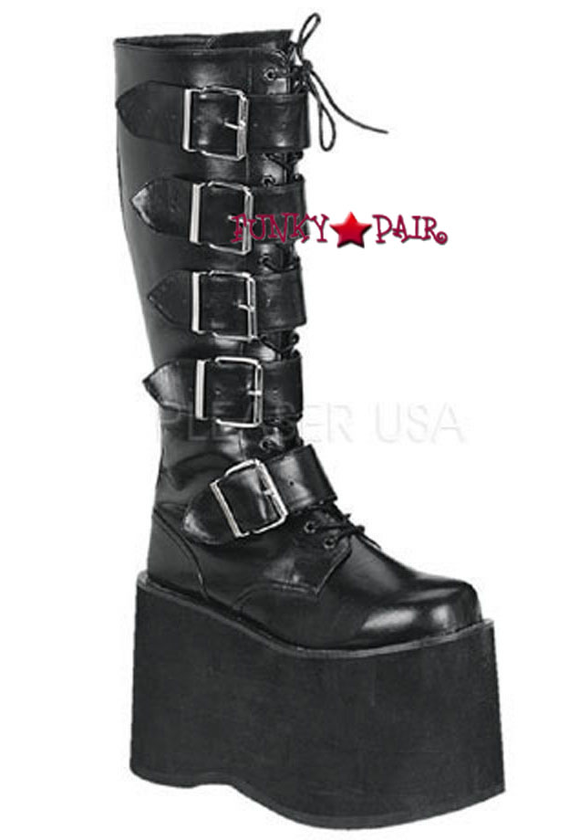 6a35ebd91 Demonia | Men Mega-618, Punk Rock Boots