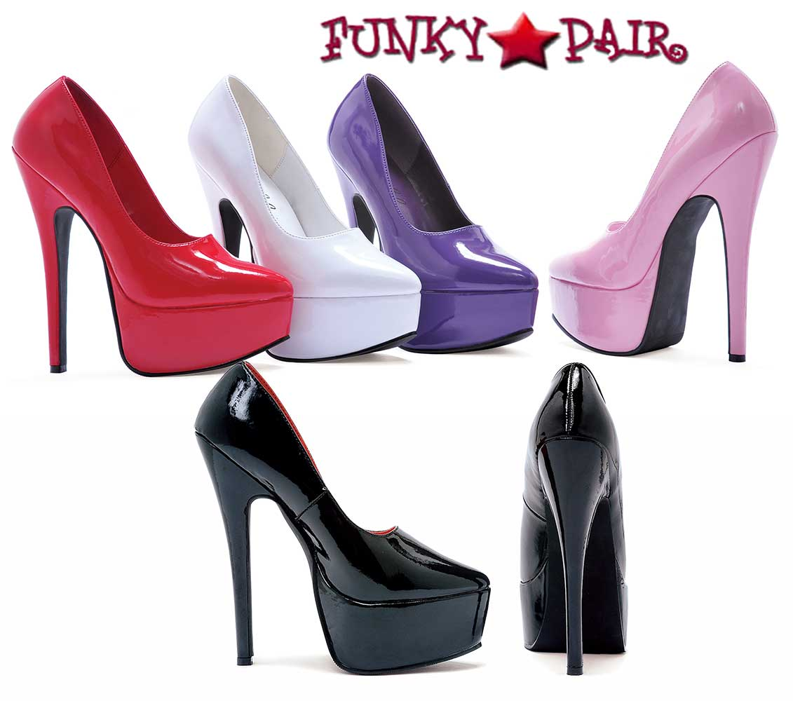9612f7474b283 652-Prince, High Heel with Platform Fetish Shoes