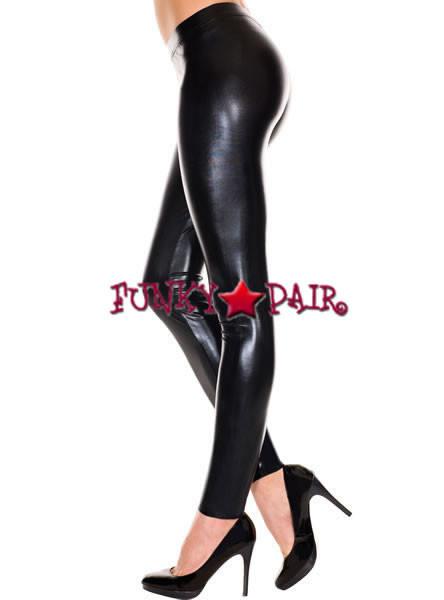 818a51240a9e5c Women's Shiny Leggings | Music Legs ML-35112