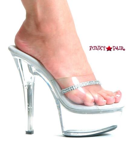 601jesse high heel with platform rhinestone shoes