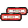 RIGID Industries SR-L Series Surface Mount Spreader Light - Black Housing - Red Halo [53122]