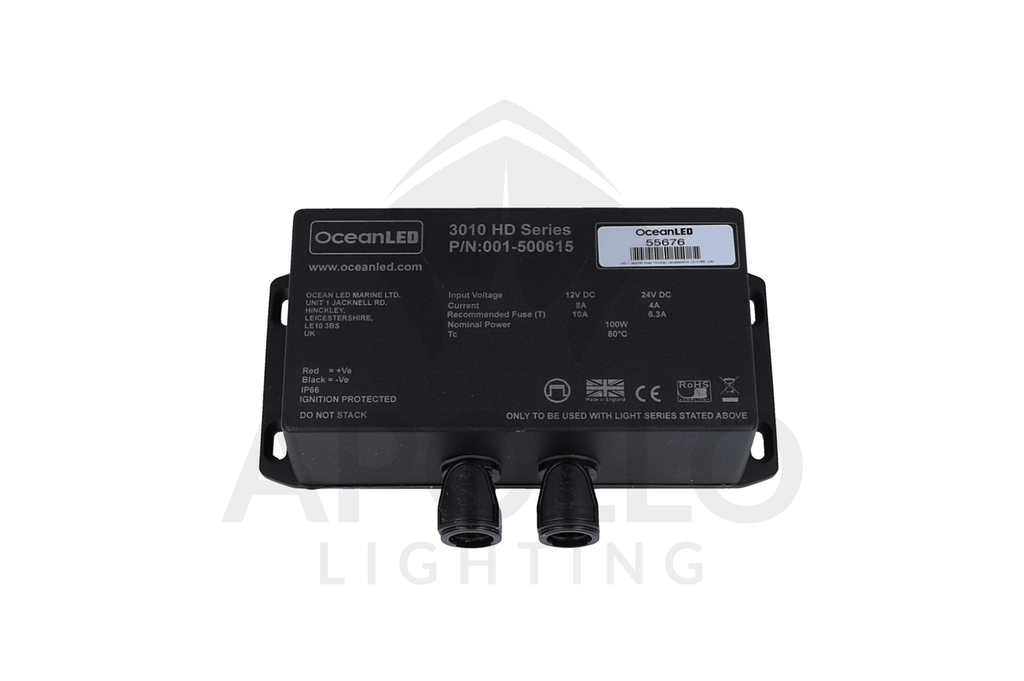 3010 HD Series OceanLED 12/24VDC Driver (Part # 001-500615 Single Color)