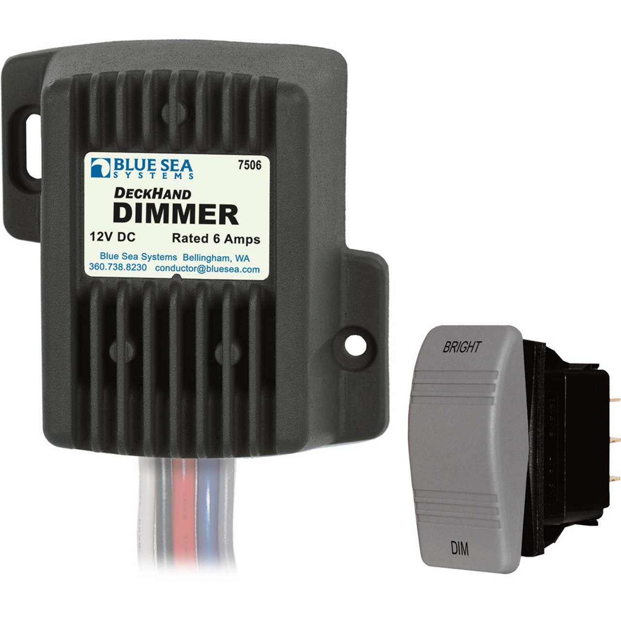 Blue Sea 7506 Deckhand Dimmer - 6AMP/12V