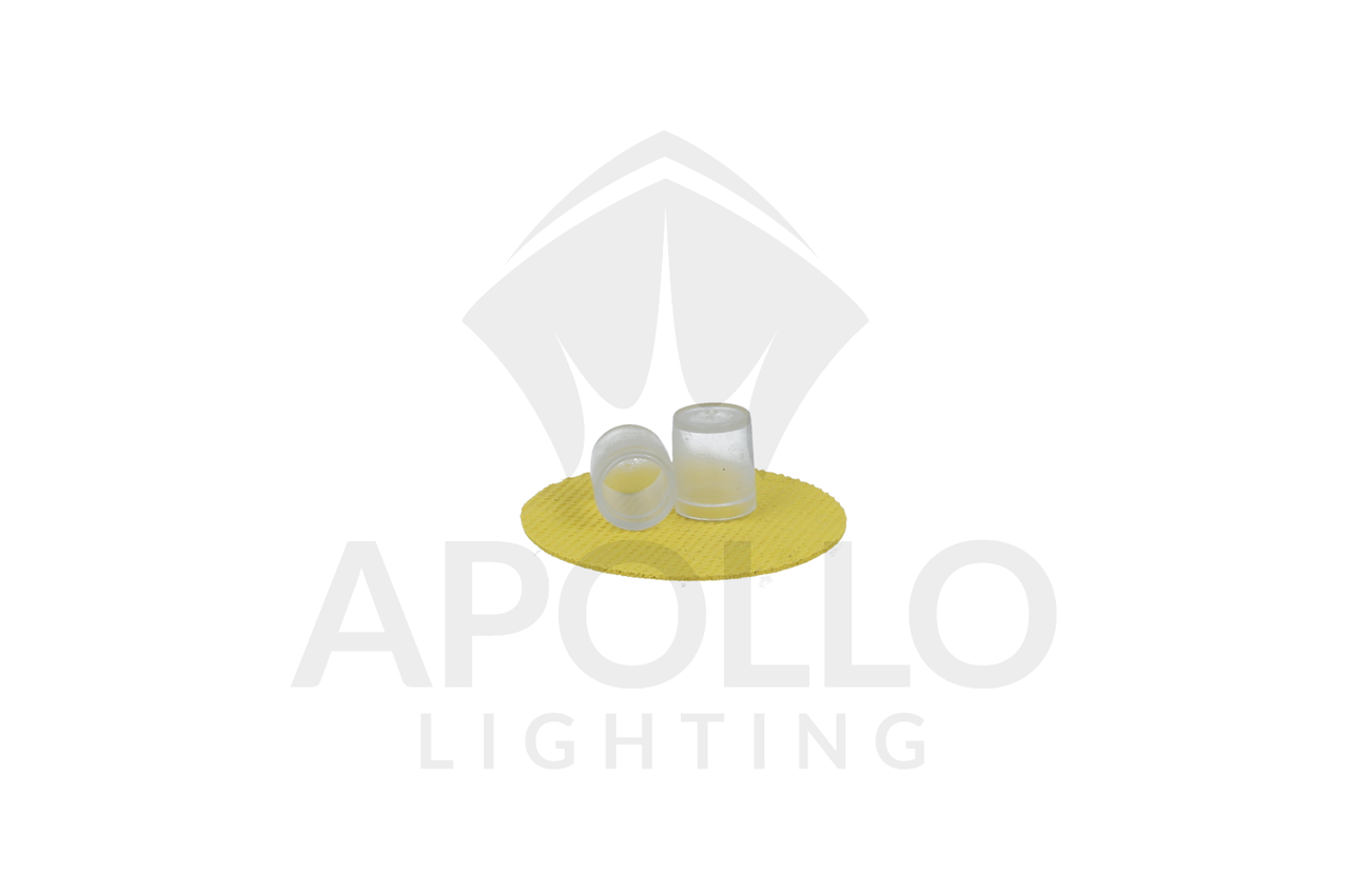3/8 Inch End Caps-Rope lighting (Pack of 5)