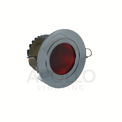 FLASH DOWNLIGHT STAINLESS STEEL RED (D3-FLASH-L0630-CR-SS-13-0000)