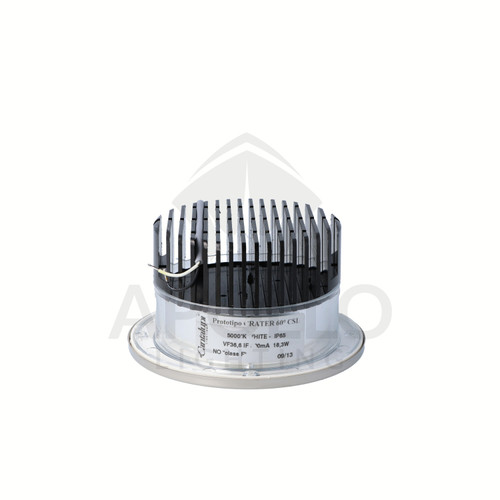 CRATER H DOWNLIGHT STAINLESS STEEL (D4-CRATH-L1950-60-SS-05-0000)