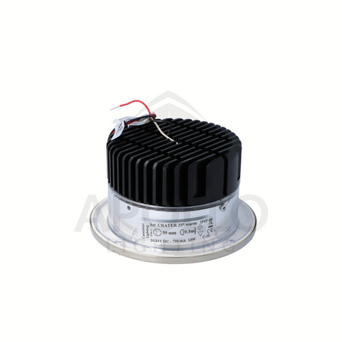 CRATER DOWNLIGHT STAINLESS STEEL (D4-CRATE-L13WA-35-SS-23-0000)