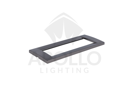 Idea Placca Classica Blk. Pol. Chrome (Sq.) (.31)