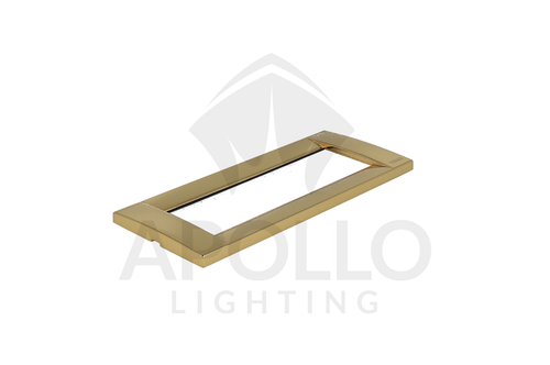 Idea Placca Classica Polished Gold (Sq.) (.32)