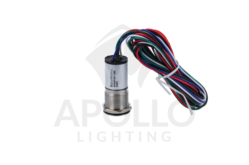 MINI RUGGED LED PUSH BUTTON SWITCH 5ADC (NON-RESETTABLE) (BTRWPSW)