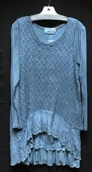 1157 cotton lace top
