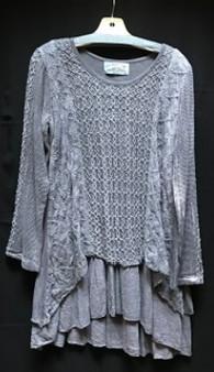 1221 cotton lace top