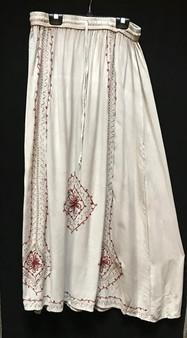 TIENDA HO 1815 EMBROIDERED RAYON SKIRT