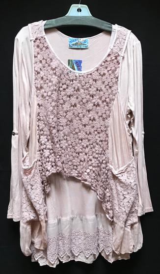 1069 cotton lace top